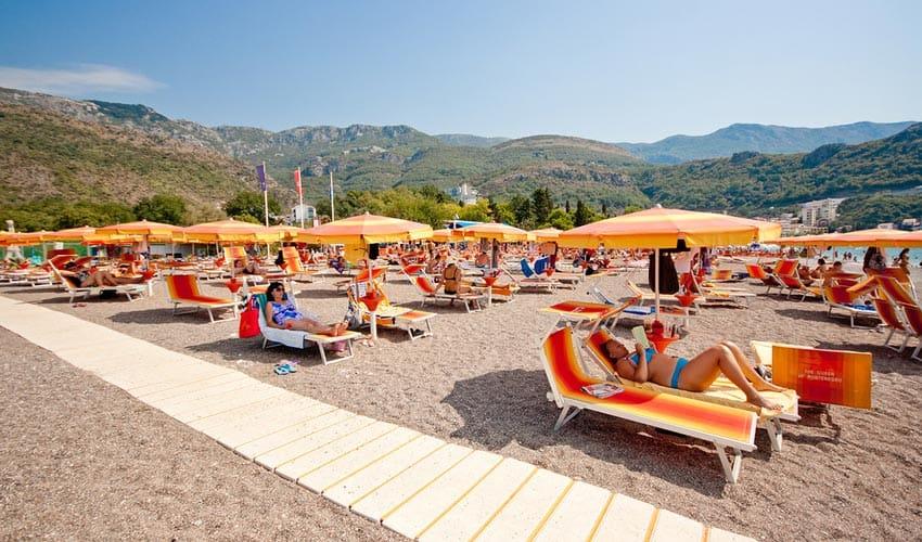 Пляжи Бечичи Черногория