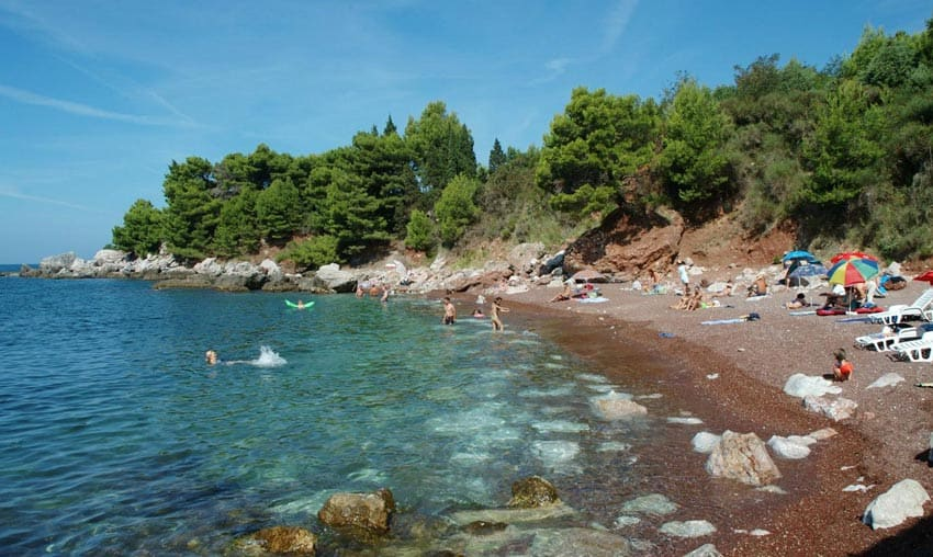 Red Beach Черногория