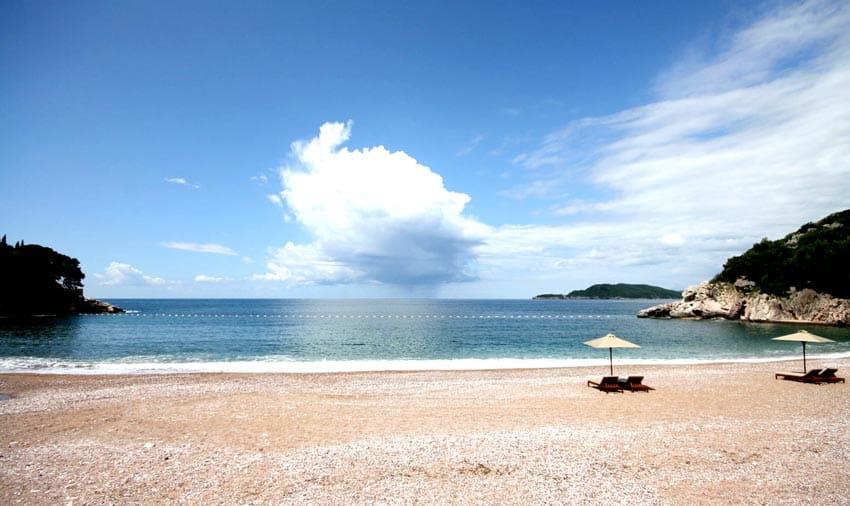 Малый пляж Черногория