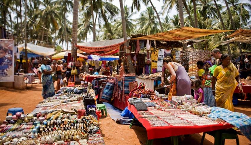 рынок на Анджуна Гоа