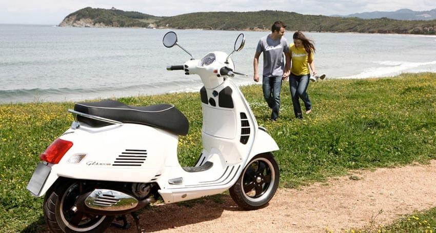 Анджуна скутер напрокат