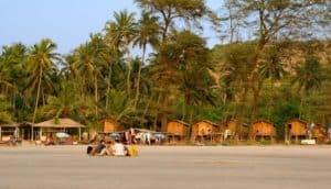 побережье Ашвем на Гоа