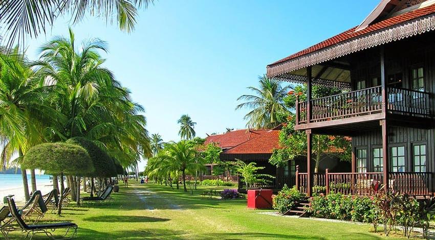 дома на берегу Лангкави