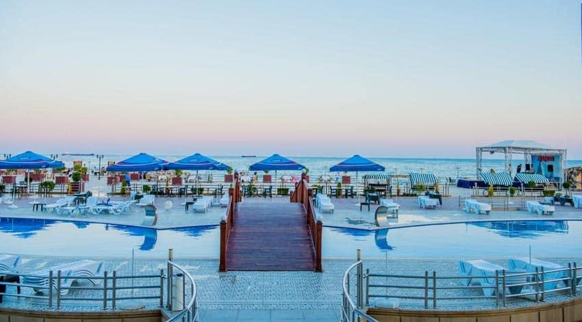 Aysberq beach Азербайджан