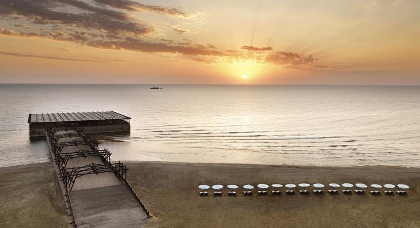пляж Бильгя Азербайджан