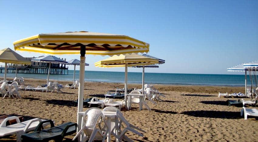 Fras Beach Мардакян Азербайджан