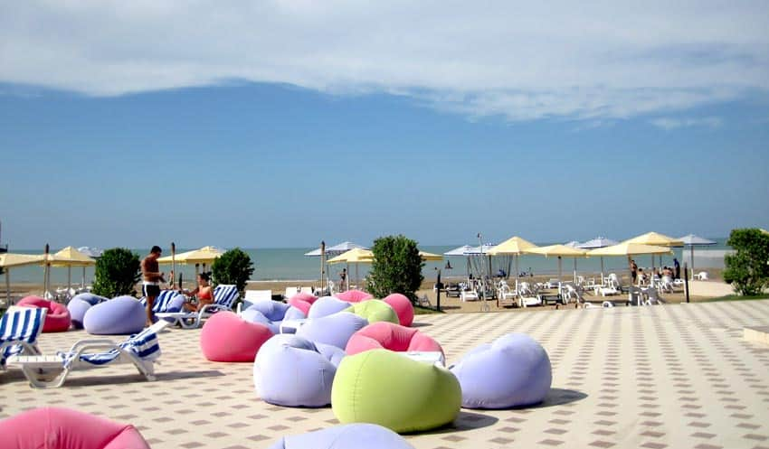 Golden Beach Мардакян Азербайджан