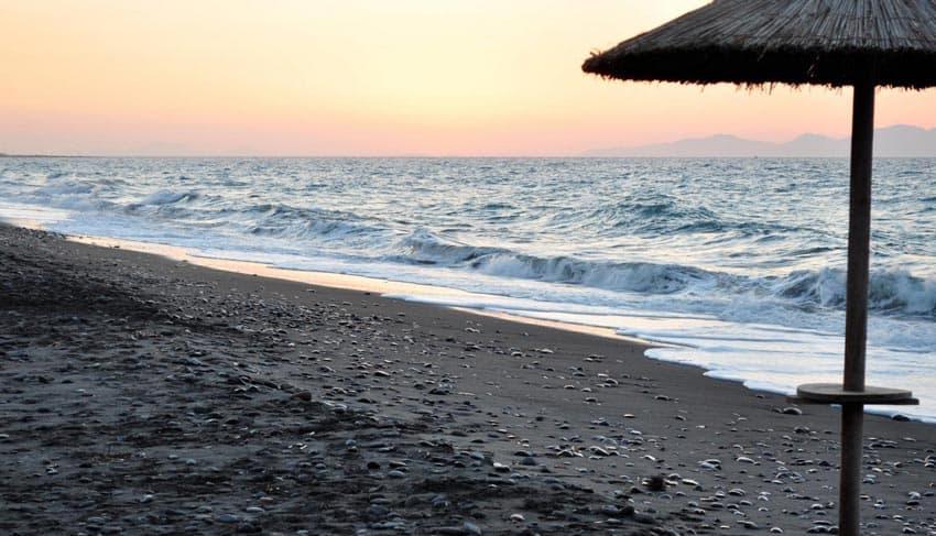 Черные пески Лянкяране