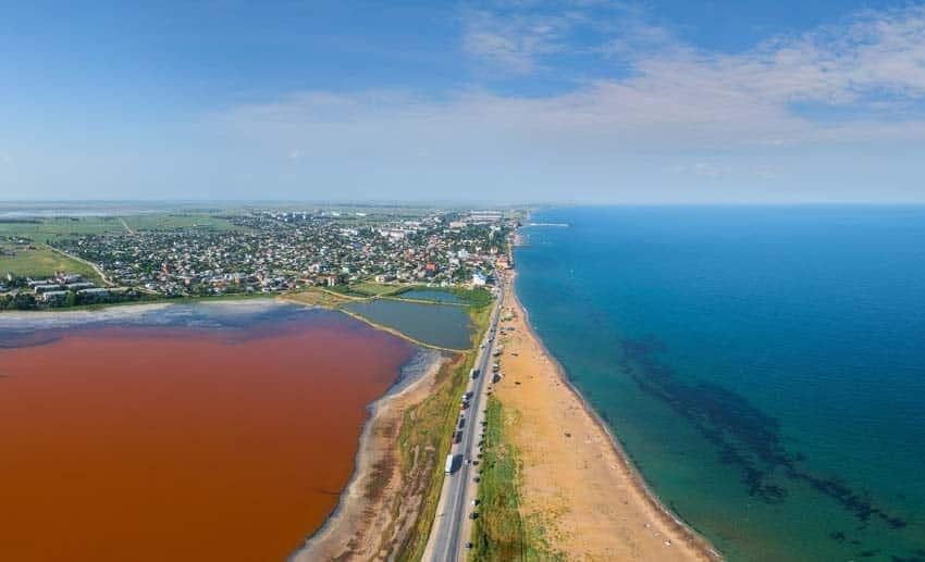 Приморский озеро Аджиголь