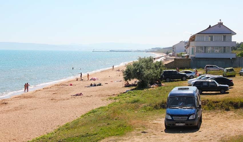 коттедж на берегу в Приморском