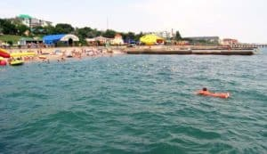 море в Приморском