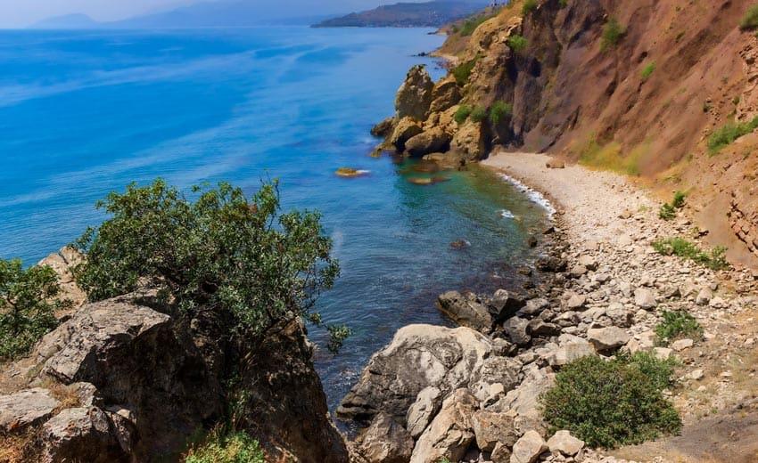 Бухта любви Рыбачье Крым
