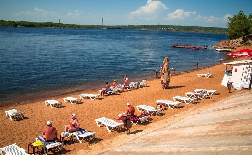 пляжи Балаково
