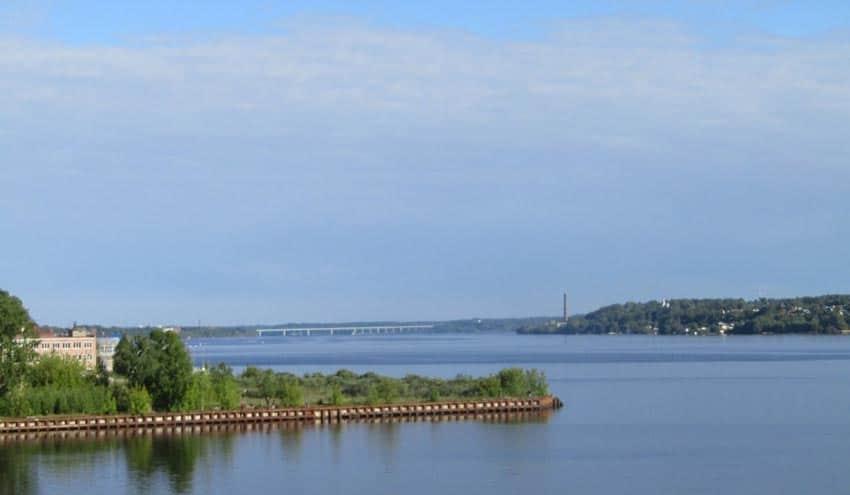 пляжи Кинешма Волга