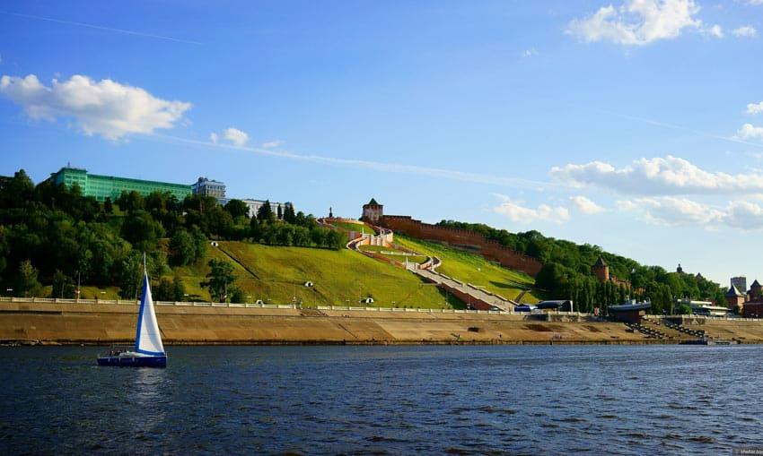 Пляжи Нижнего Новгорода на Волге