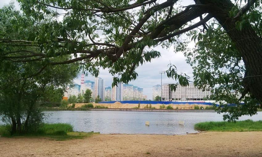 Мещанское озеро Нижний Новгород