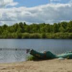 пляж На щелковском озере Нижний Новгород