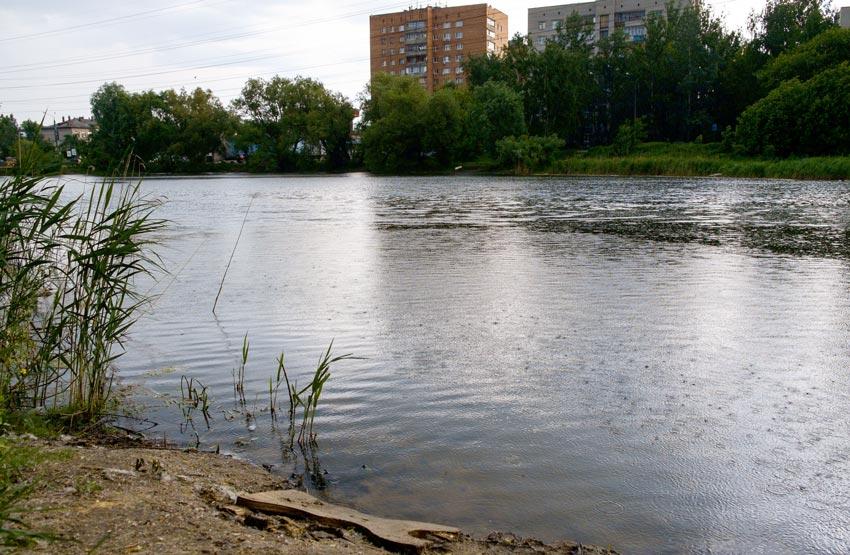 пляж у больницы №39 Нижний Новгород