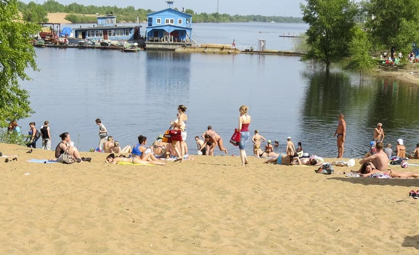Гребной канал Нижний Новгород
