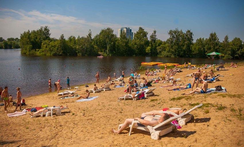 платный пляж в Сормовском парке