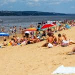 Центральный пляж Волгоград
