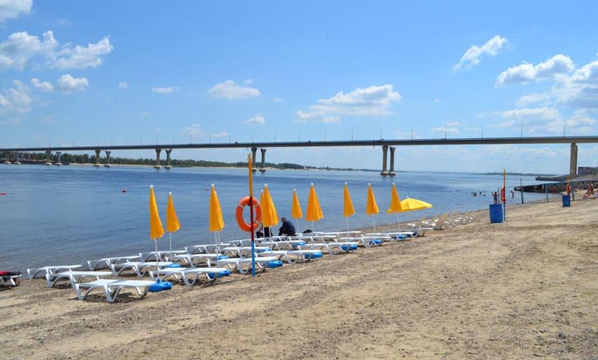 Центральный городской пляж Волгоград