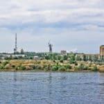 вид с о.Крит в Волгограде
