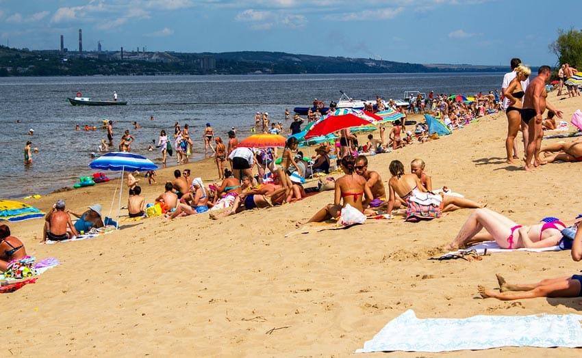 городской пляж Вольска