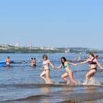 городской пляж в Вольске