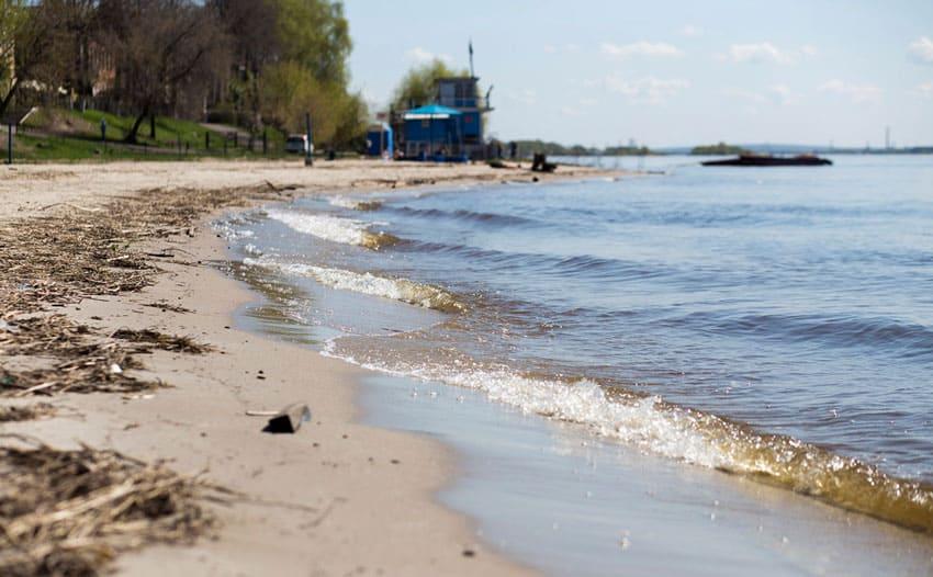 Пляж Норский Ярославль