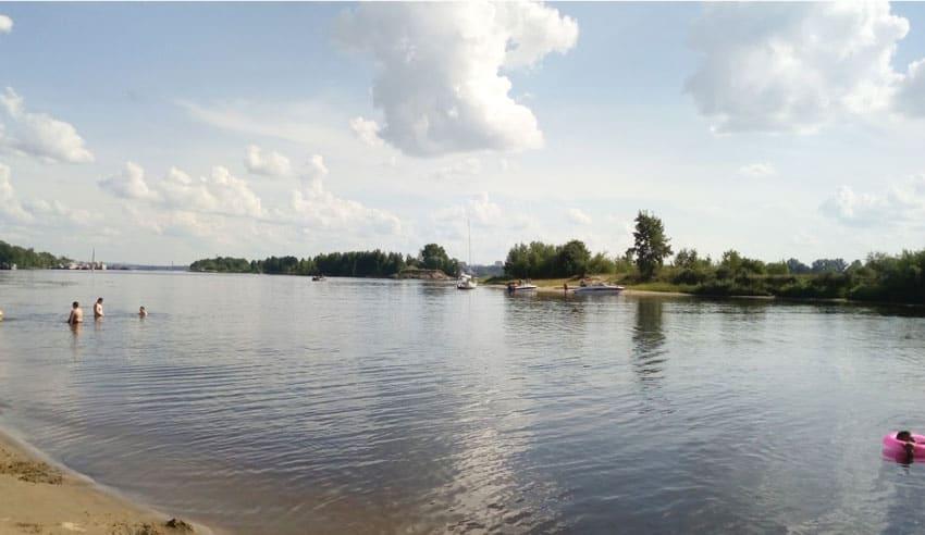 Нудистский пляж Ярославля