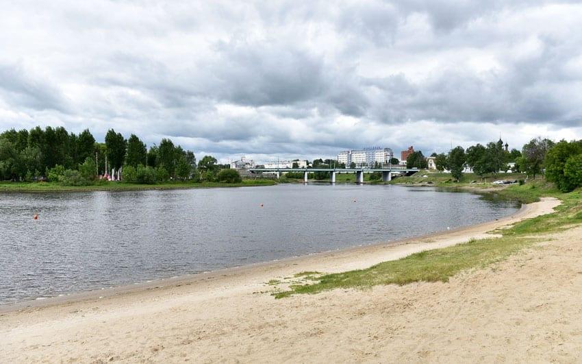пляж в Парково Ярославль