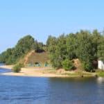 пляжи Заволжье