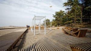 новый городской пляж в Зеленодольске