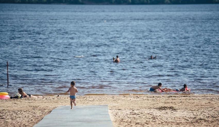 новый пляж в Зеленодольске