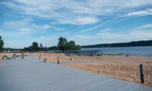 новый пляж Зеленодольск