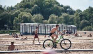 велодорожка пляж Зеленодольск