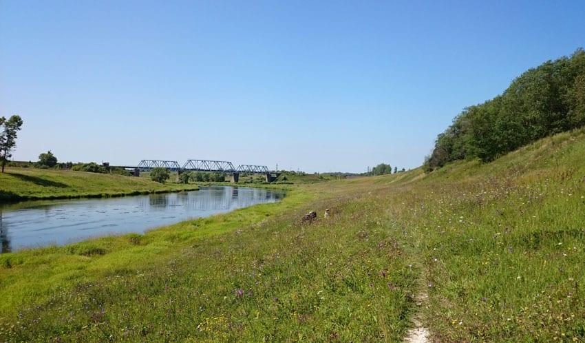 Волга пляжи в Зубцове