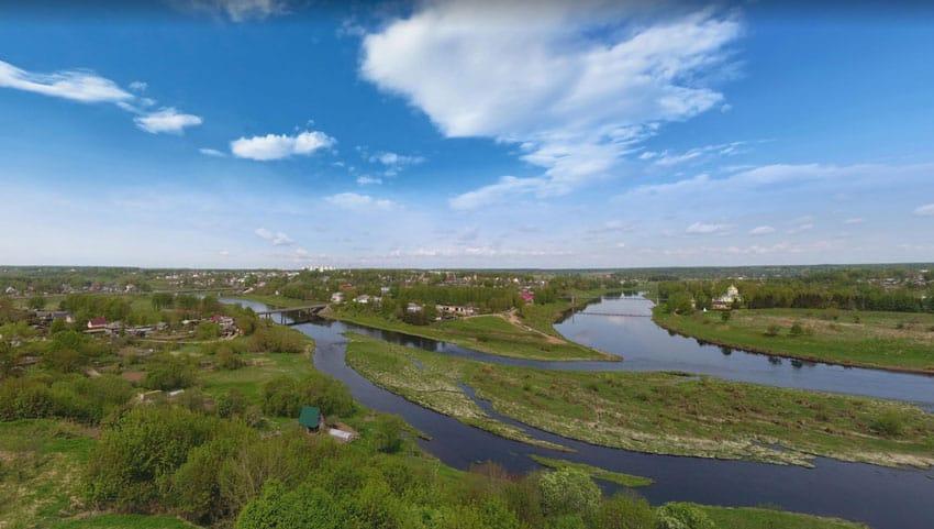 город Зубцов на Волге