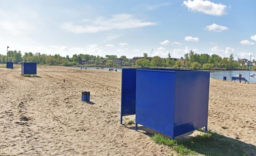 благоустройство пляжа Заволжска
