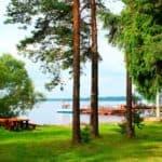 отдых остров Уходово