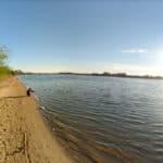 отдых на пляже Дубна