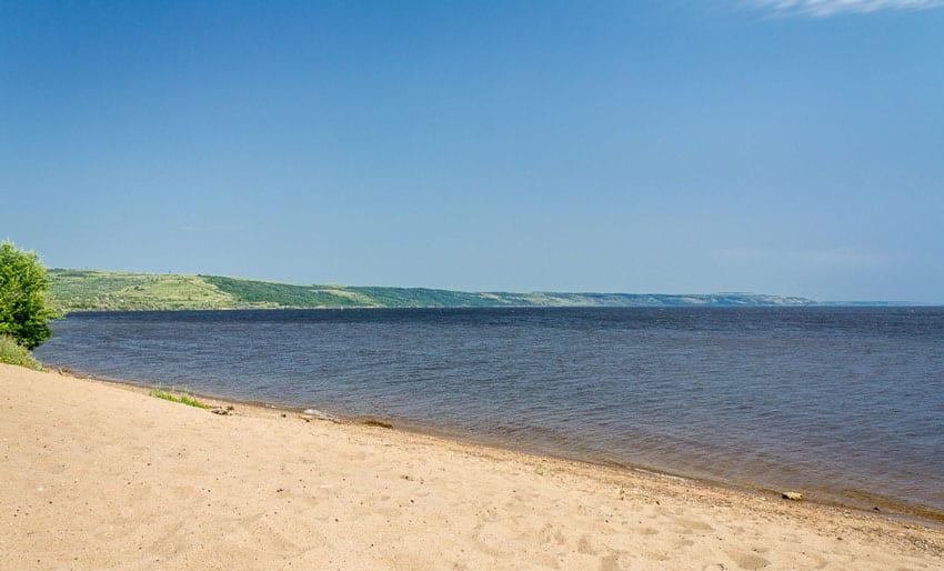 Пляжи в Хвалынске