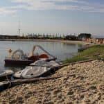 пляж в Александровском парке