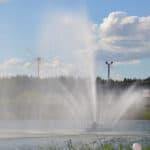 фонтан в Александровском парке