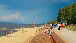 Пляжи в Чебоксарах