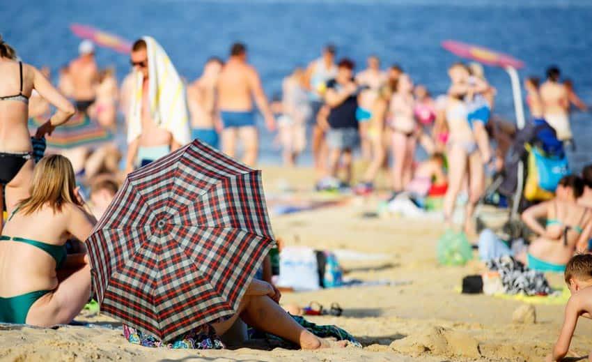 Пляж в Камышине