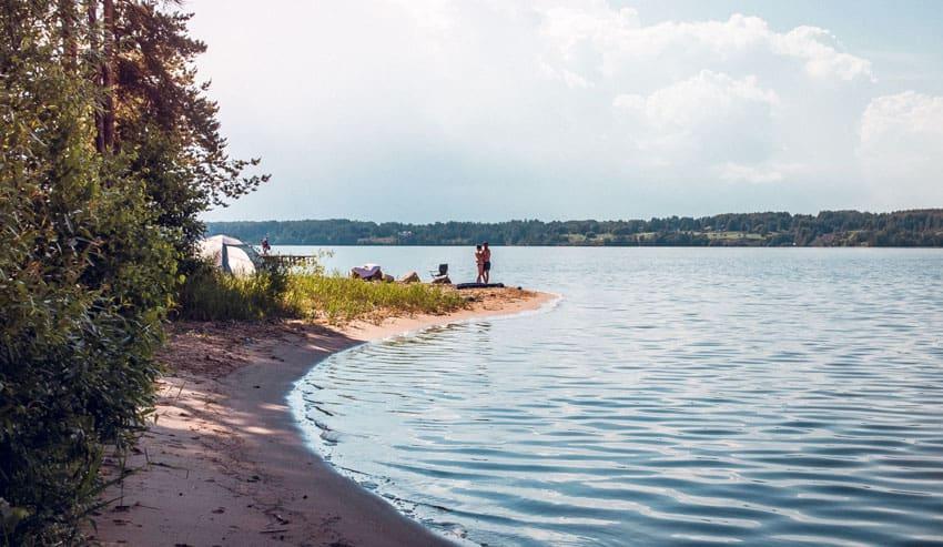 Платный пляж «Олений бор»