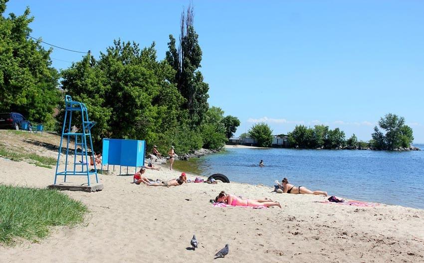 Городской пляж в Конаково