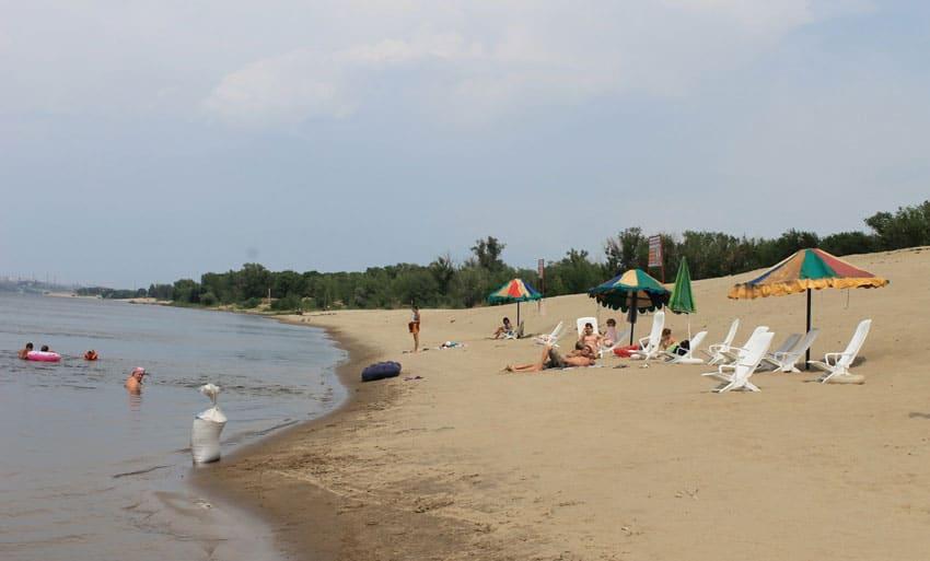 городские пляжи Краснослободска